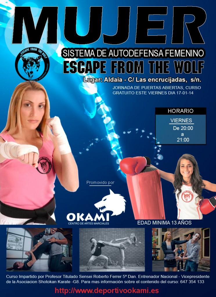 Cartel Defensa Personal Femenina
